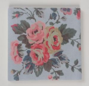 Ceramic Wall Tiles Made With Cath Kidston Faded Flowers Blue
